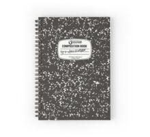 Red Wheelbarrow Composition Book Spiral Notebook