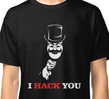 Uncle FSociety I Hack You Mr Robot Classic T-Shirt