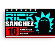 Rick Sanchez !! Canvas Print