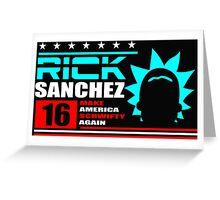 Rick Sanchez !! Greeting Card
