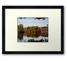 Beginning of Autumn Framed Print