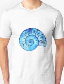 Blue Ammonite Unisex T-Shirt