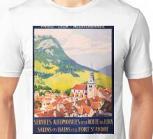Services Automobiles, French Travel Poster Unisex T-Shirt
