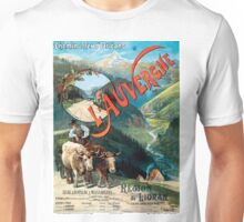 L'Auvergne, French Travel Poster Unisex T-Shirt
