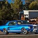 Greg Zuj's Ford Mustang Coupe by HoskingInd