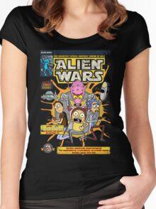 Alien Wars Women's Fitted Scoop T-Shirt