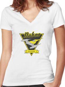 Naboo - Aviators Women's Fitted V-Neck T-Shirt