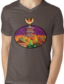 Ecruteak Mens V-Neck T-Shirt