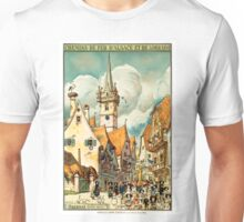 Obernai, French Travel Poster Unisex T-Shirt