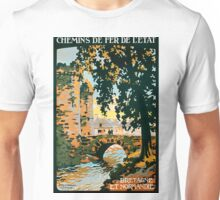 Bretagne et Normandie, French Travel Poster Unisex T-Shirt