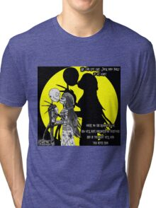 We can live Like Jack and Sally Tri-blend T-Shirt