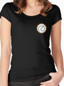 Dragon Ball Z Whis Symbol Design Women's Fitted Scoop T-Shirt