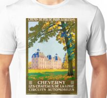 Cheverny, French Travel Poster Unisex T-Shirt