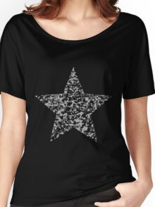 Camouflage star Women's Relaxed Fit T-Shirt