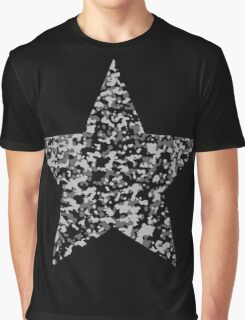Camouflage star Graphic T-Shirt