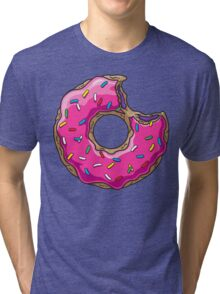 You can't buy happiness, but you can buy DONUTS. Tri-blend T-Shirt