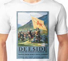 Deeside, British Travel Poster Unisex T-Shirt