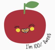 I'm 100% sweet One Piece - Short Sleeve