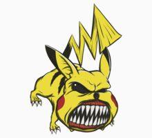 Pikachu by cheechardman