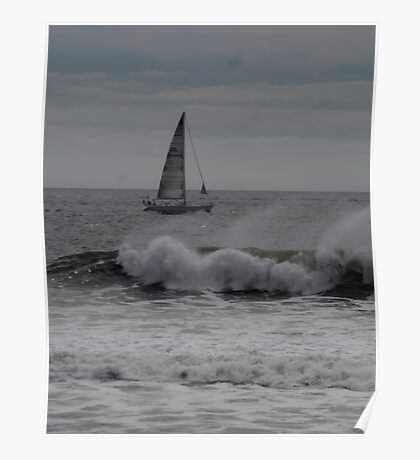 Surf and Sail Poster
