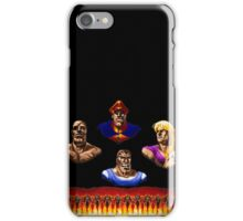 Street Fighter 2 End Scene iPhone Case/Skin