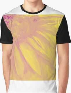 Colorful watercolor of gentle flower with large petals Graphic T-Shirt