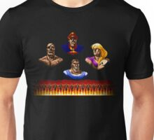 Street Fighter 2 End Scene Unisex T-Shirt