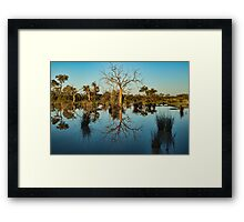Outback Beauty - Kilcowera Station Framed Print