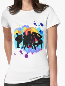 Dance Crew Womens Fitted T-Shirt