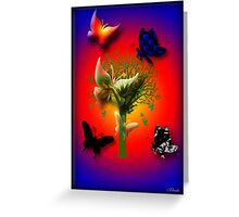 Ƹ̴Ӂ̴Ʒ SILENCE AND THE BEAUTY OF BUTTERFLIES Ƹ̴Ӂ̴Ʒ Greeting Card