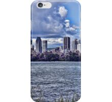 Montreal skyline iPhone Case/Skin