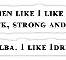 Idris Elba is my coffee Sticker