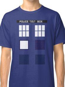 Blue public call Classic T-Shirt