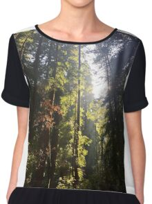 Down in the forest Chiffon Top