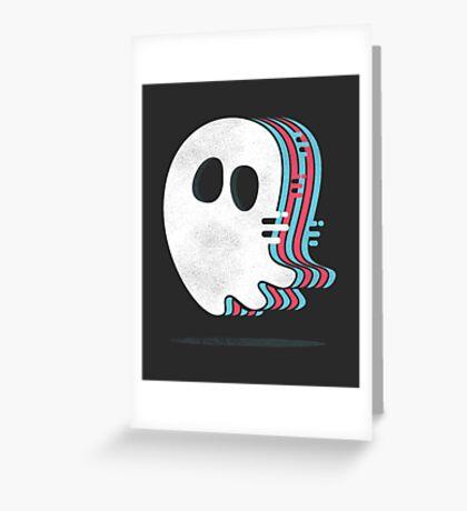 Ghost Rush Greeting Card
