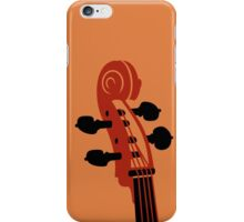 Cello Scroll VRS2 iPhone Case/Skin