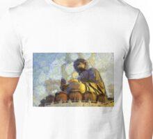 Vangoghize - Buddha statue in Hong Kong Unisex T-Shirt