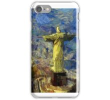 Vangoghize - Christ the redeemer iPhone Case/Skin