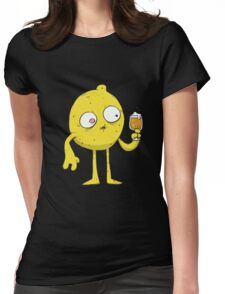 Sour Beer Monster Womens Fitted T-Shirt