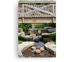 No Trolls under the Bridge! Canvas Print