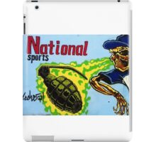 National sports as played in Iraq, Afghanistan, Gaza etc, etc, etc, iPad Case/Skin