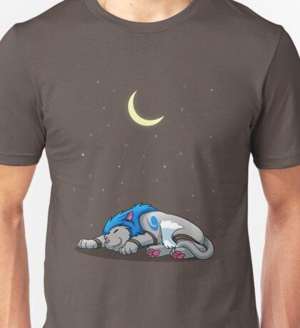 Derpkitty sleeping Unisex T-Shirt