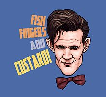 Fishfingers and Custard by Ben Farr