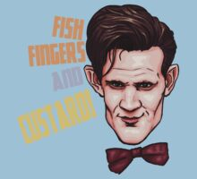 Fishfingers and Custard Baby Tee