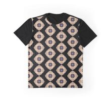 Pansy Pixel Puke Graphic T-Shirt