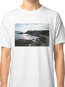 Dunnottar Castle Scotland Low Tide Classic T-Shirt