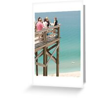 Observation Deck Greeting Card
