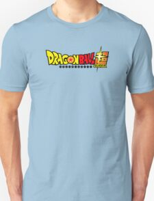 Dragon Ball Super Logo Title Design Unisex T-Shirt