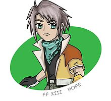 Final Fantasy XIII - Hope sticker by littlebearart