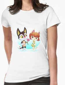 ACNL Rudy and Felicity Womens Fitted T-Shirt